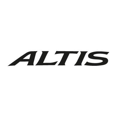 Toyota Altis logo vector - Logo Toyota Altis download