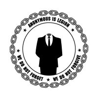 Anonymous logo vector