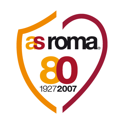 AS Roma 80 logo vector - Logo AS Roma 80 download