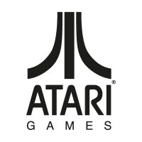 Atari Games Black logo vector