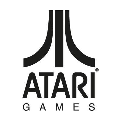 Atari Games Black logo vector - Logo Atari Games Black download