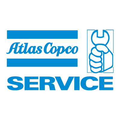 Atlas Copco Service logo vector - Logo Atlas Copco Service download