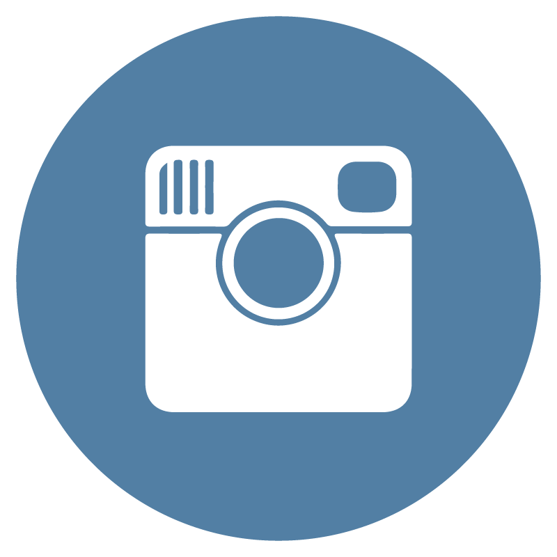 Instagram icon circle logo