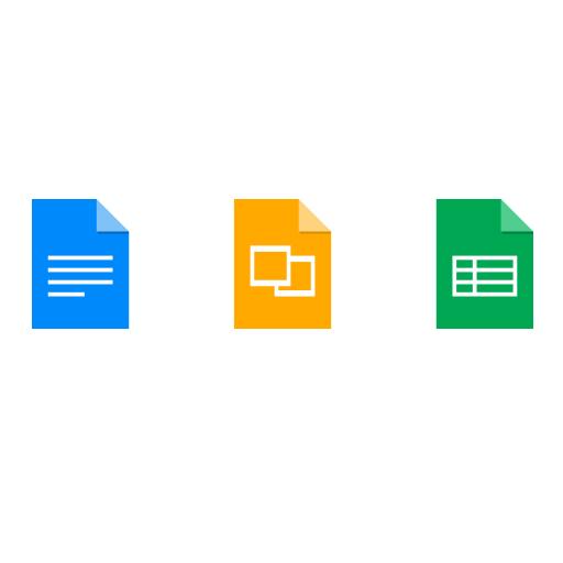 Google Docs icons logo