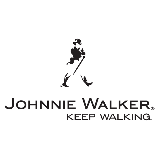"Johnnie Walker ""Keep Walking"" logo"