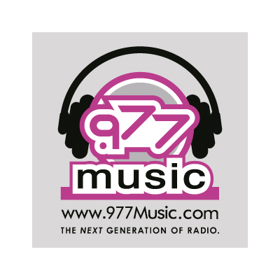 .977 music logo vector - Logo .977 music download