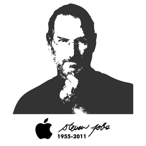 Steve Jobs logo