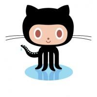 GitHub Octocat logo vector - Logo GitHub Octocat download