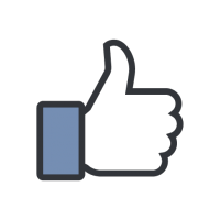 Facebook Like vector download
