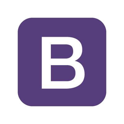 Bootstrap logo vector download