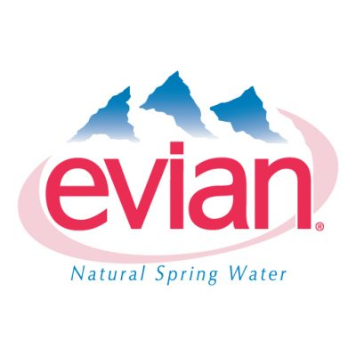 Evian logo vector download