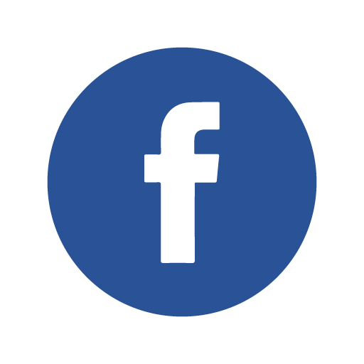Facebook icon circle logo