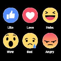 Facebook Emoticons vector