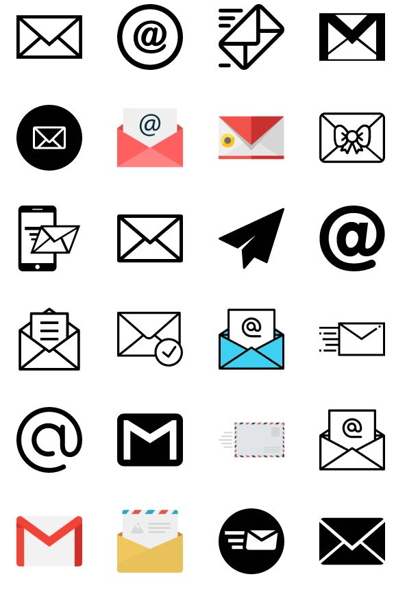 email-icon-vector-pack