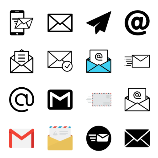 30 Email icons logo