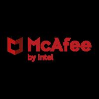 New McAfee brand logo