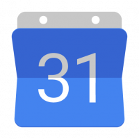Google Calendar icon vector
