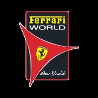 Ferrari World Abu Dhabi logo vector