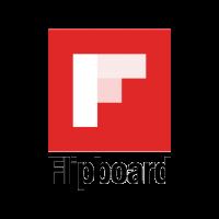 Flipboard logo vector