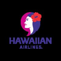 New Hawaiian Airlines logo in vector free download