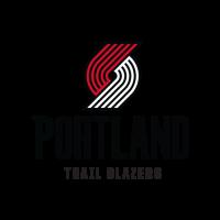 New Portland Trail Blazers logo vector free download