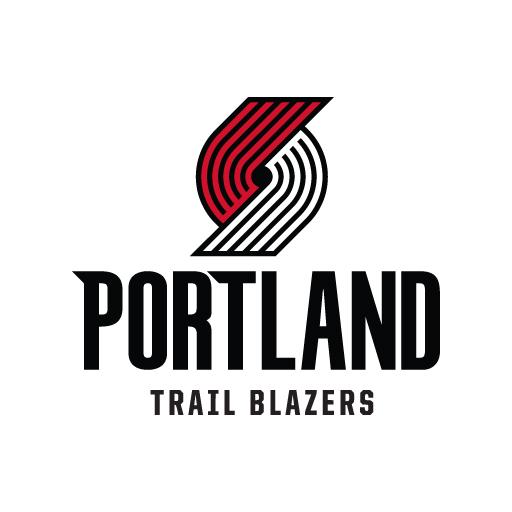 Portland Blazers Roster 2018: Portland Trail Blazers New Logo In (.EPS + .AI) Vector