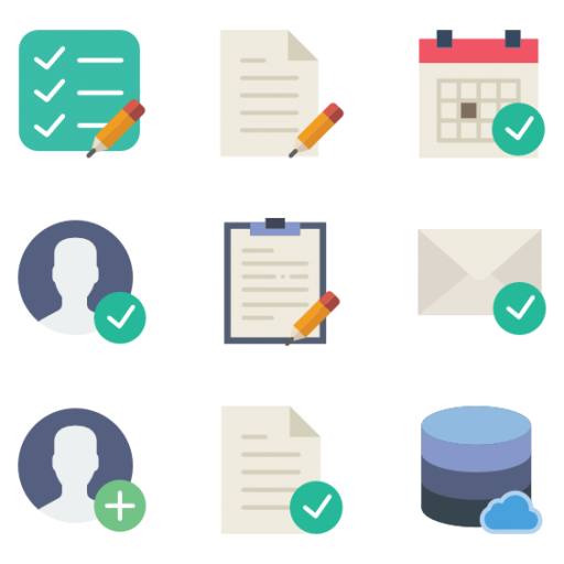 560 Interaction Assets icon vector
