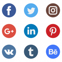 Social Network Logo Collection