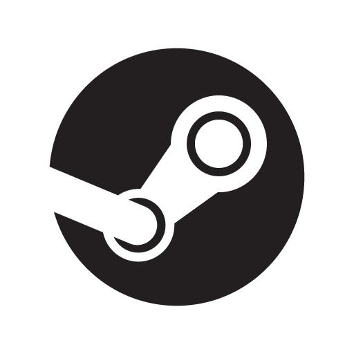 Steam logo vector