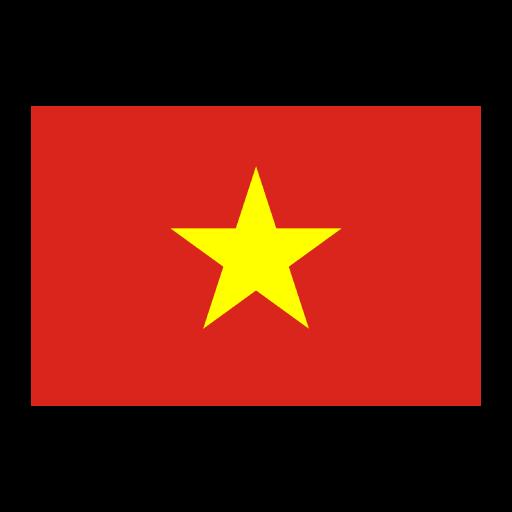 Vietnam flag logo