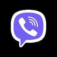 Viber Icon logo vector