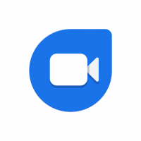 Google Duo icon vector