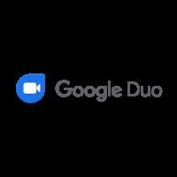 Google Duo logo vector