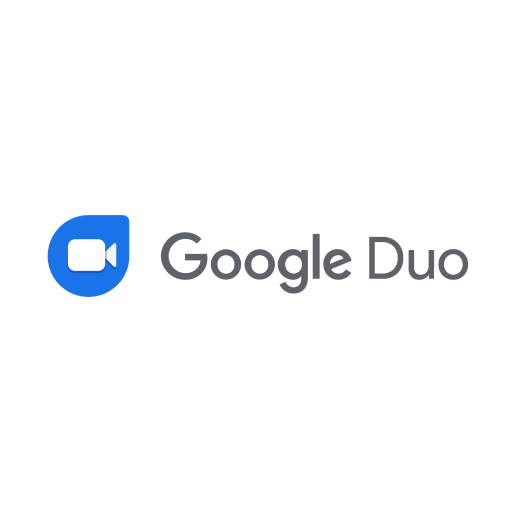 Google Duo logo vector