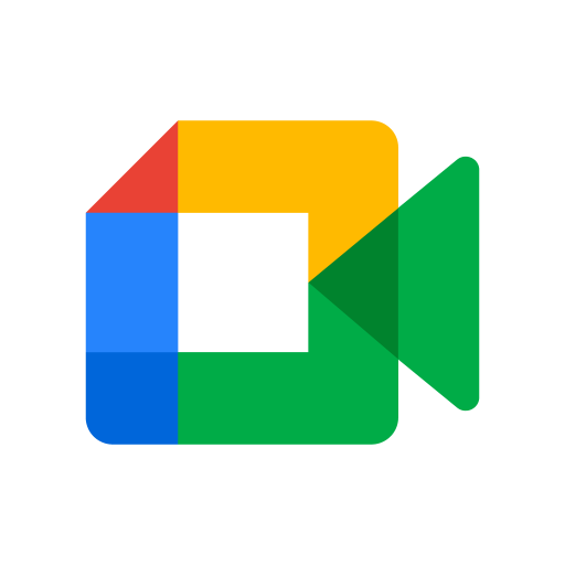 Google Meet logo vector