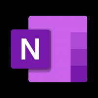 OneNote logo vector